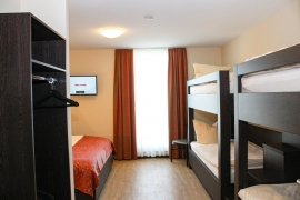 Family Room Plus - Beds in Hotel La Toscana near Europapark