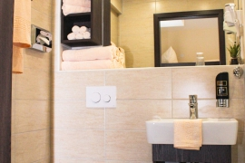 Family Room Plus - Bathroom in Hotel La Toscana near Europapark