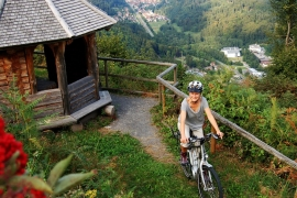 Cycling through the Black Forest